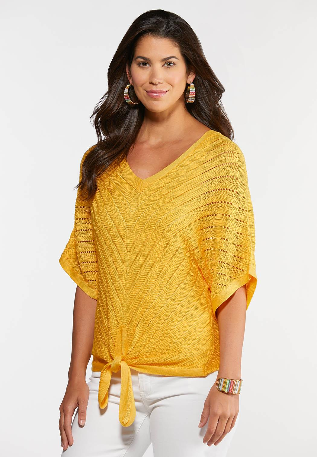 Plus Size Summer Sweater Top