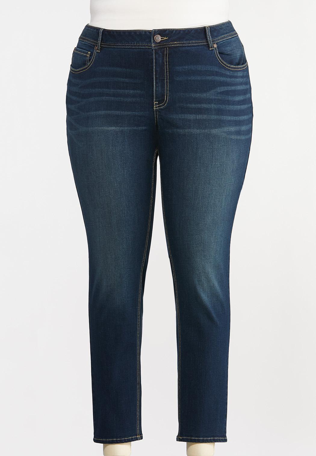 Plus Size Curvy Skinny Jeans