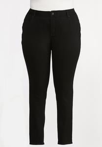 Plus Size The Perfect Black Jeggings