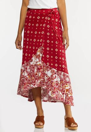 Medallion Wrap Skirt