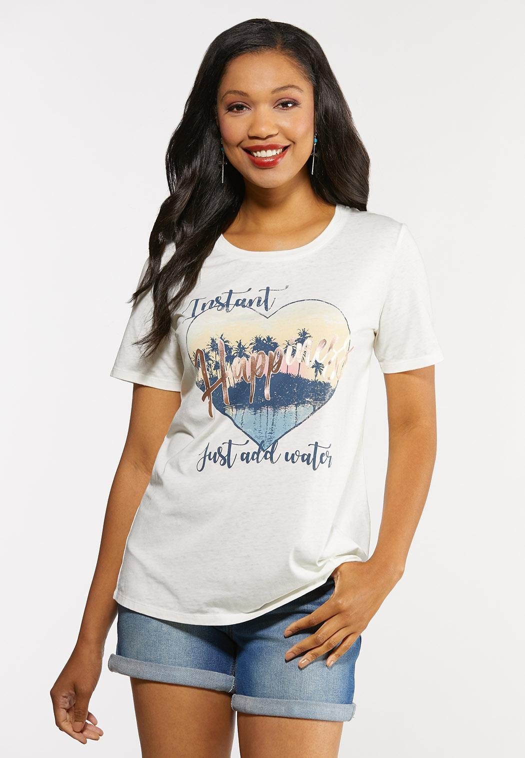 Plus Size Just Add Water Tee