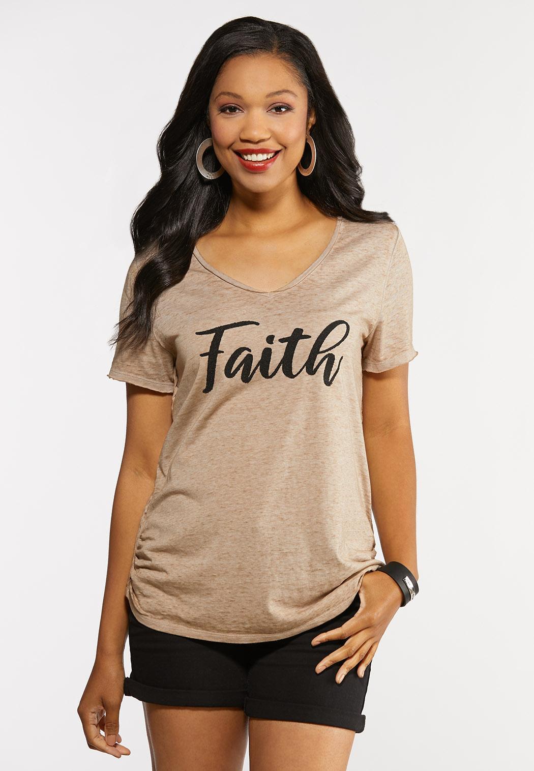 Beaded Faith Top