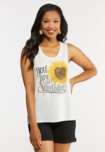 Plus Size My Sunshine Tank Top