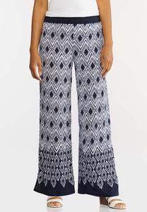 Border Chevron Pants