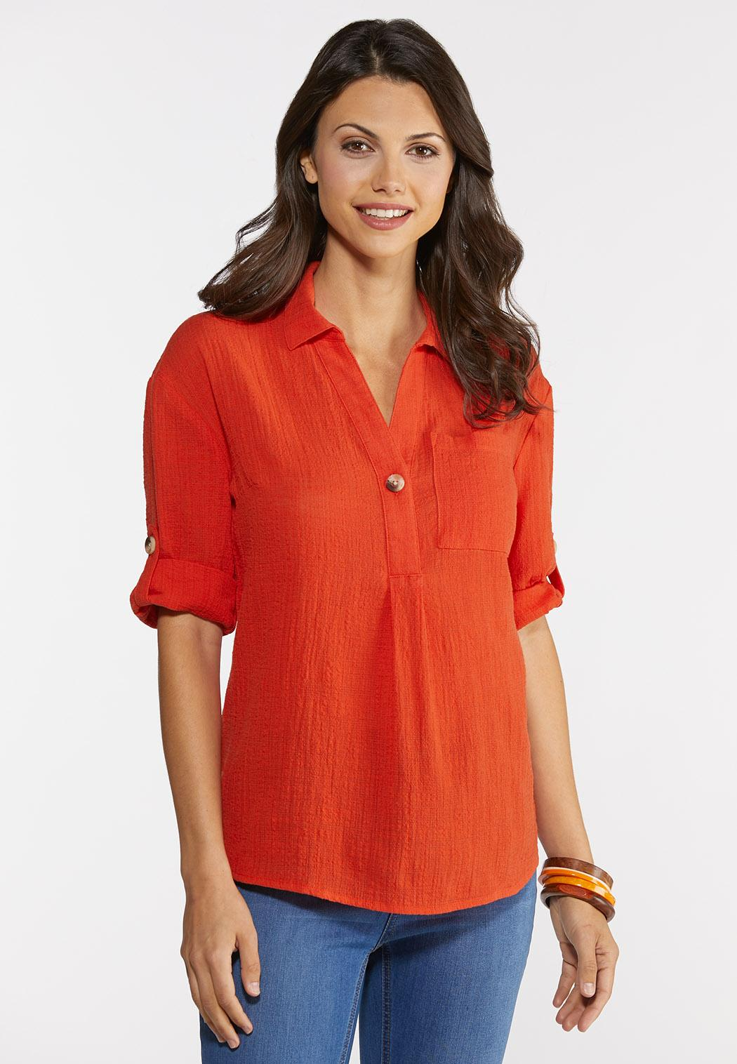 Plus Size Casual Summer Top