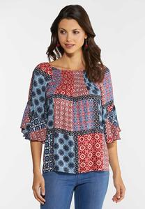Americana Patchwork Top