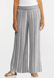 Vintage Stripe Linen Pants