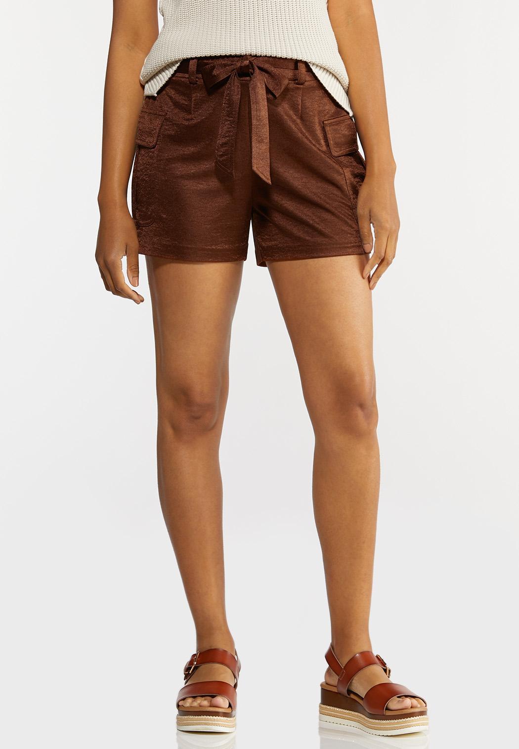 Satin Utility Shorts