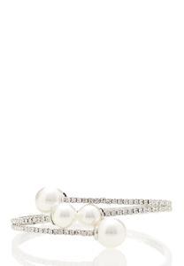 Pearl Stone Flex Bracelet