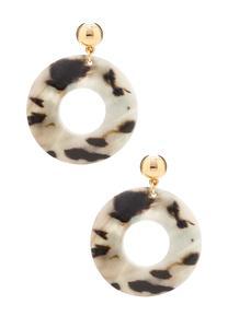 Marbled Shell Earrings