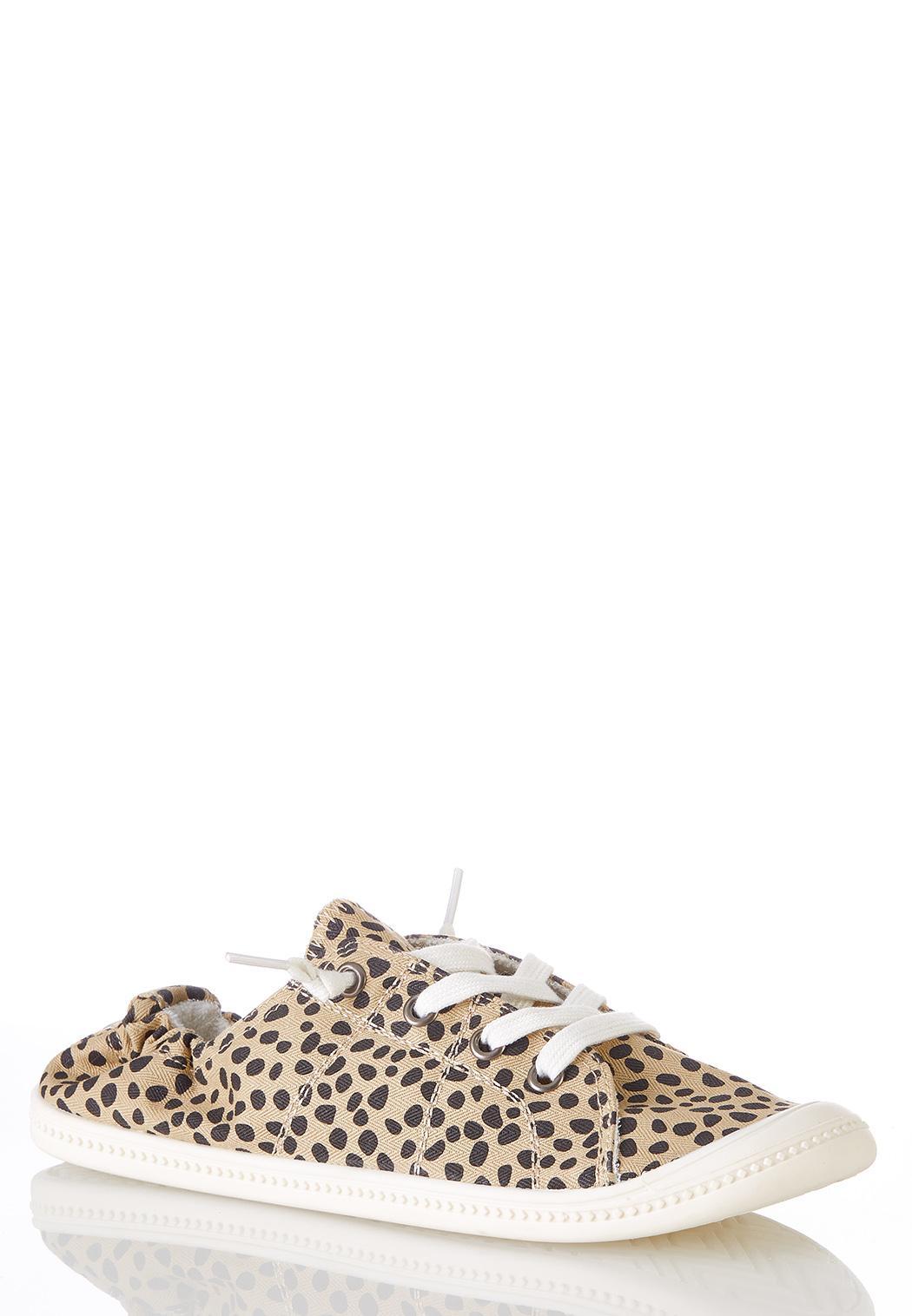 Cheetah Scrunch Sneakers