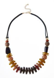 Mixed Acrylic Bead Necklace
