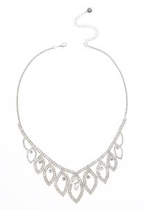 Rhinestone Fashion Necklace