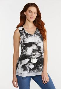 Marble Layered Top