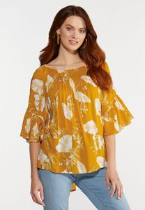 Plus Size Golden Child Top