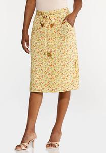 Sunny Floral Skirt