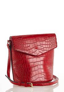 Red Croc Crossbody