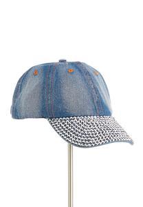 Denim Bling Baseball Hat