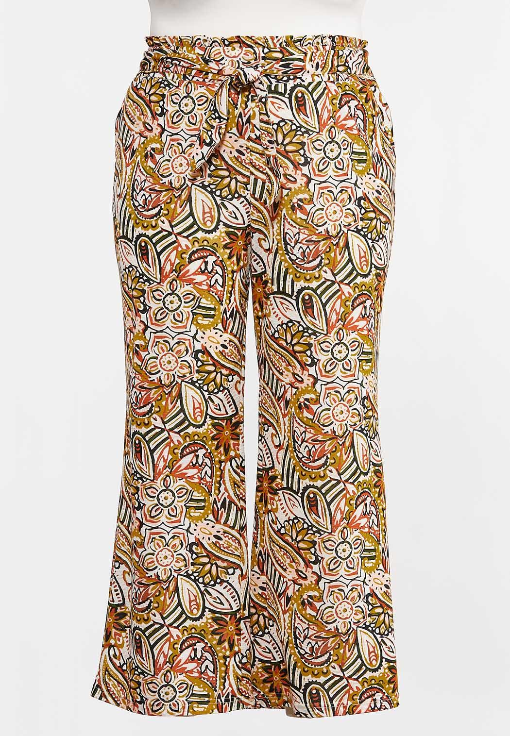 Plus Petite Island Paisley Pants