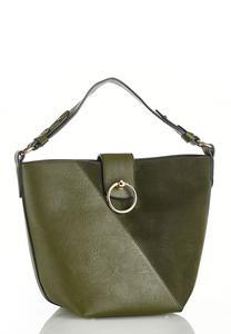 Olive Bucket Handbag