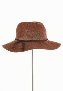 Braided Trim Panama Hat