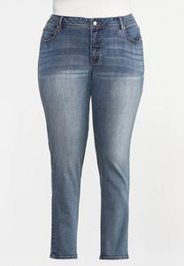 Plus Size Curvy Shape Enhancing Skinny Jeans