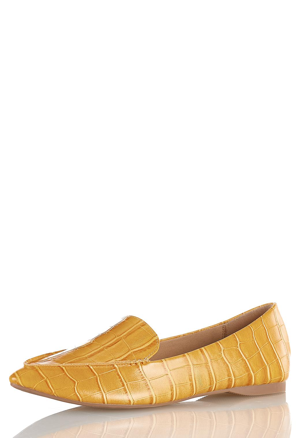 Croc Loafer Flats