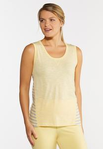 Yellow Stripe Tank
