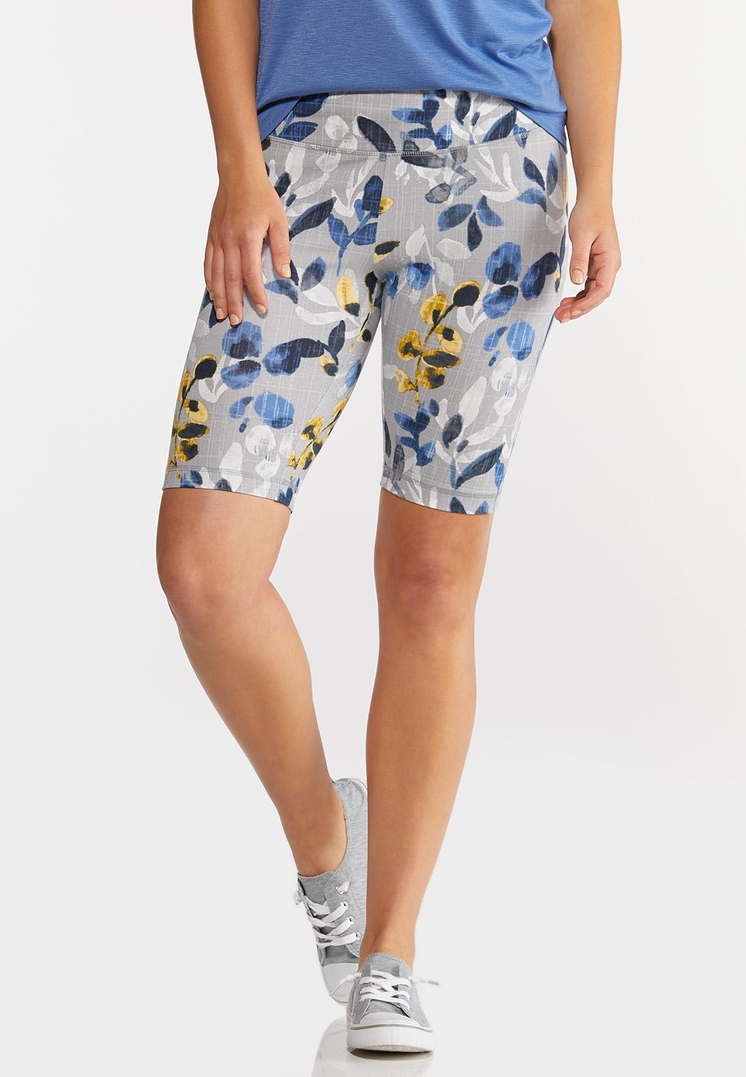 Floral Biker Shorts