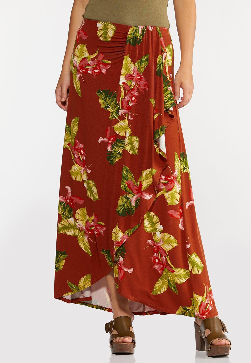 Orchid Breeze Maxi Skirt