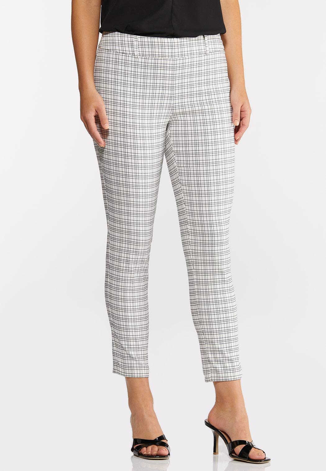 Windowpane Pants