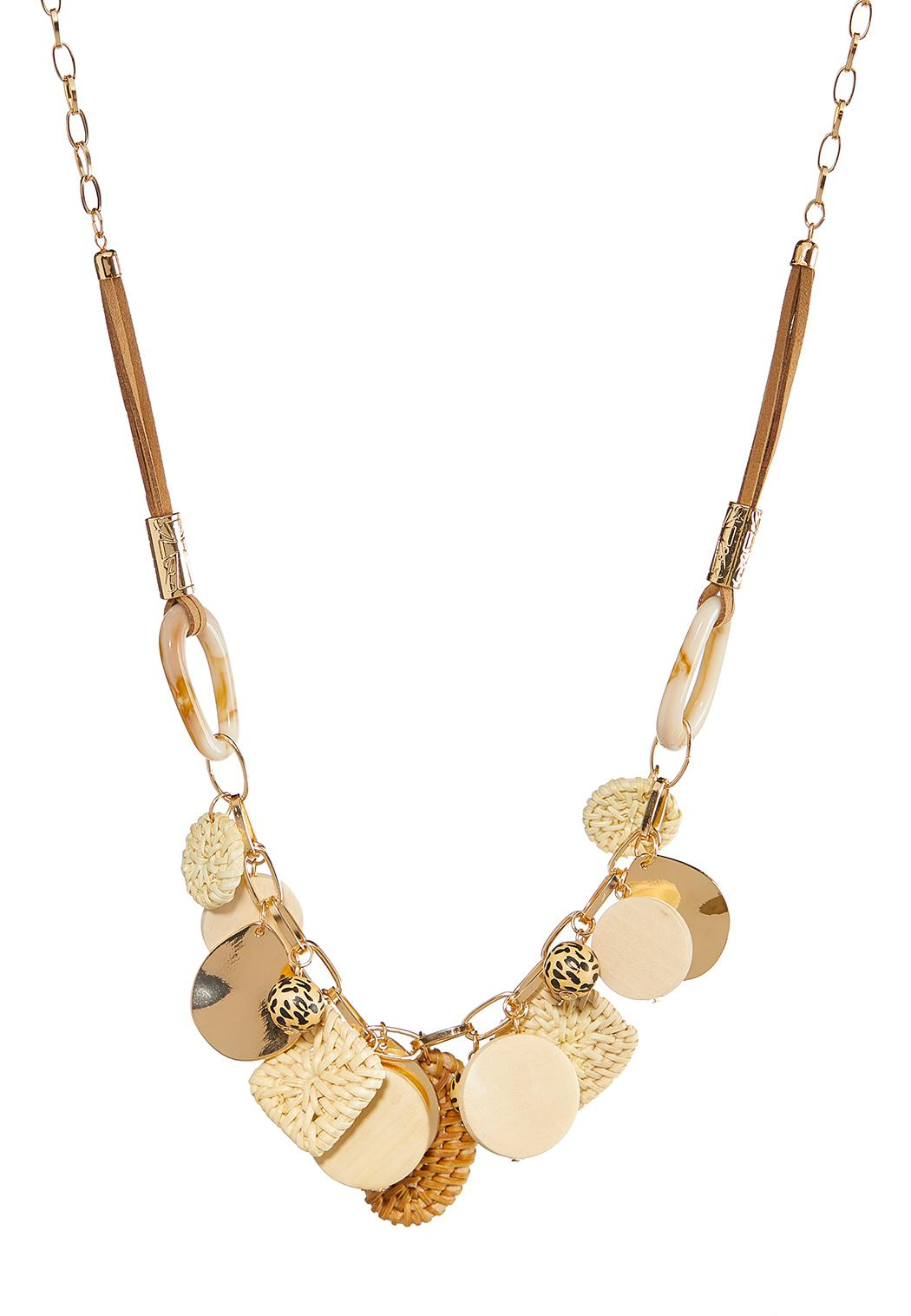 Assorted Charm Chain Necklace