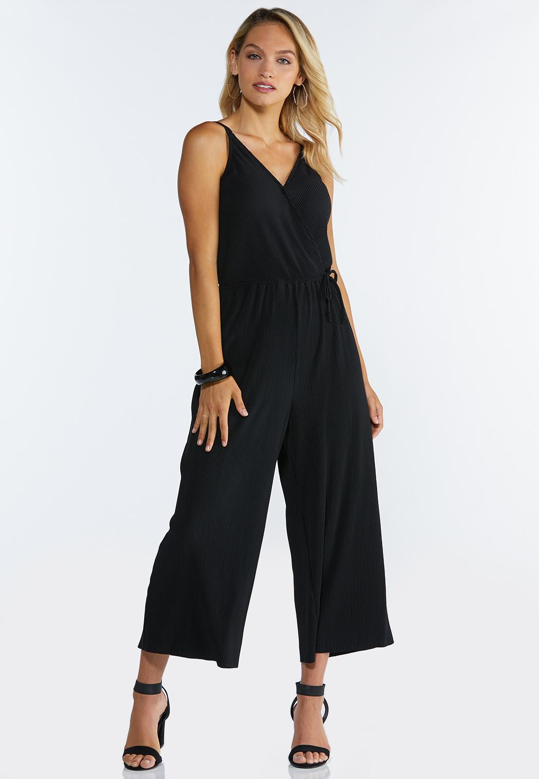 Strappy Cropped Jumpsuit