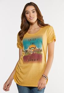 Plus Size Enjoy The Journey Tee