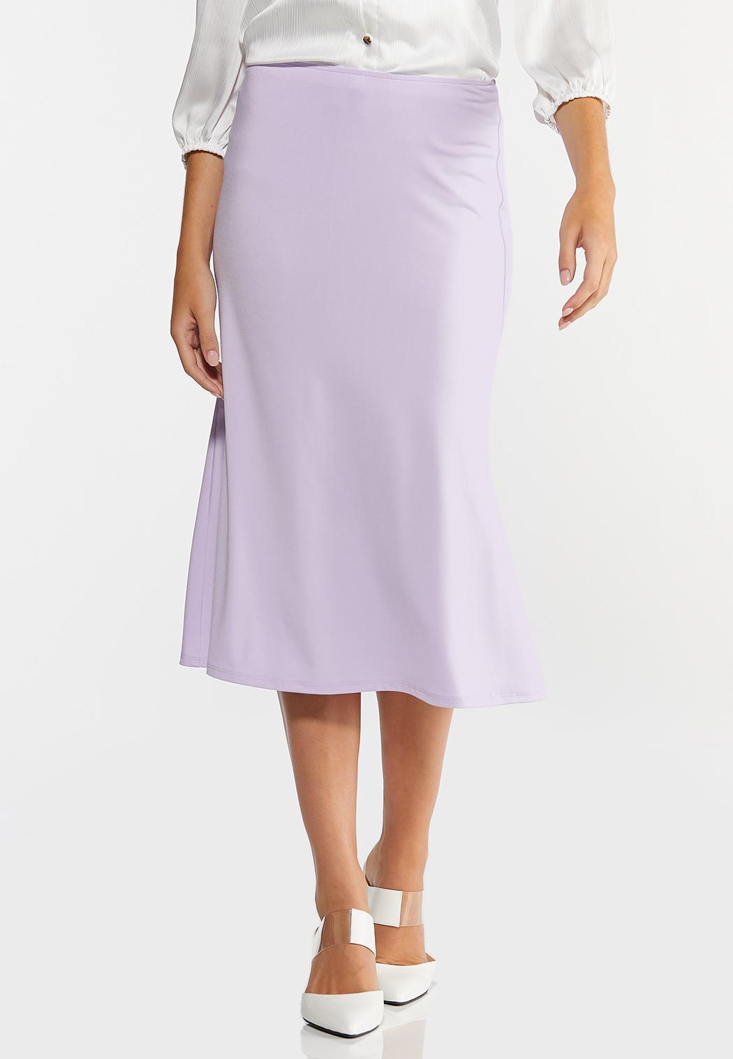 Lilac Slip Skirt