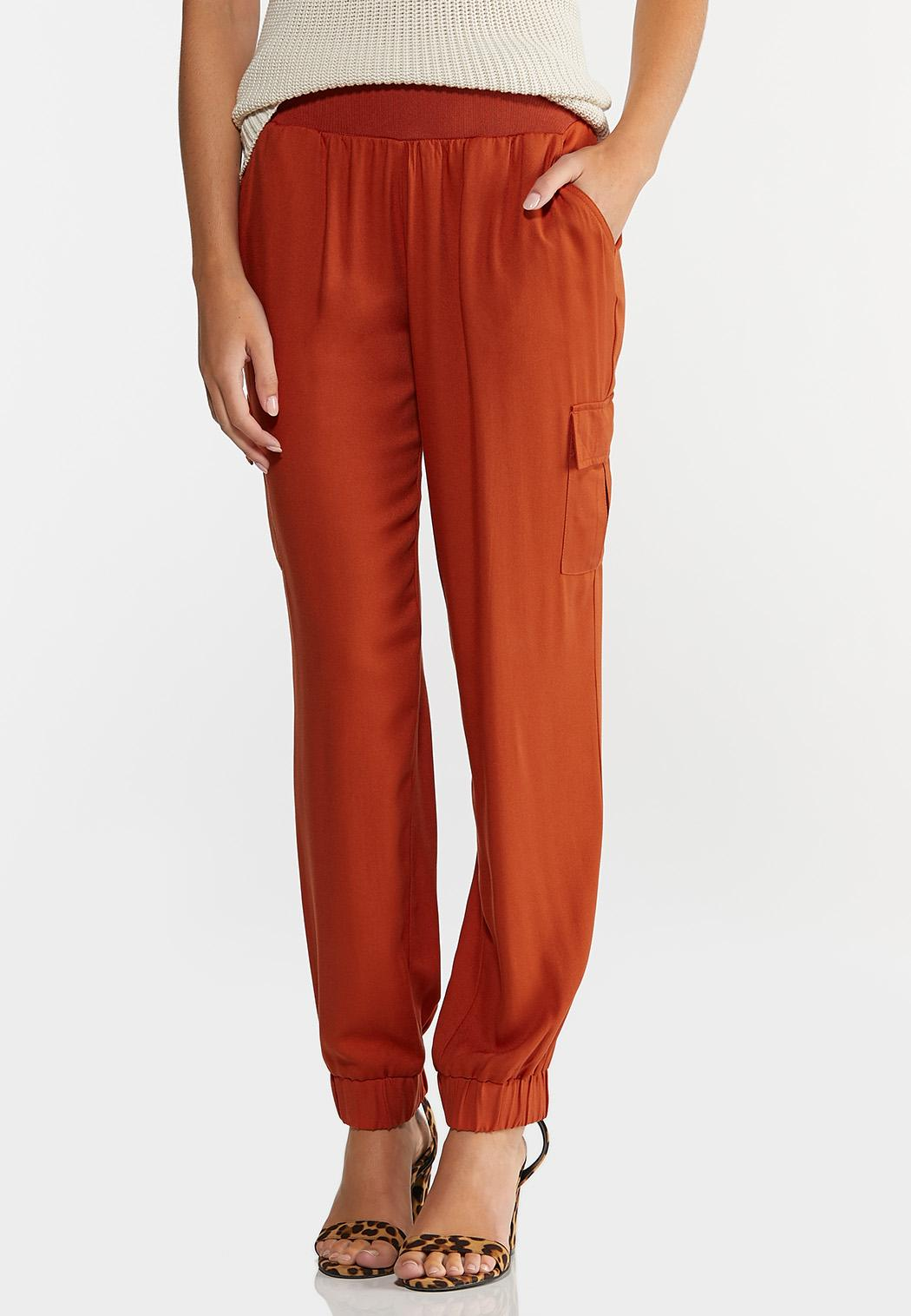 Rust Utility Joggers