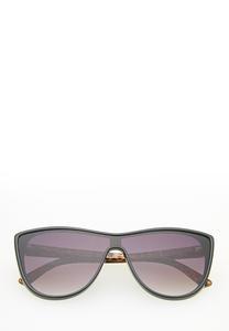 Leopard Arm Shield Sunglasses