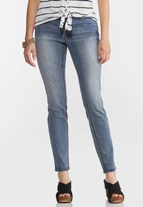 High-Rise Shape Enhancing Skinny Jeans