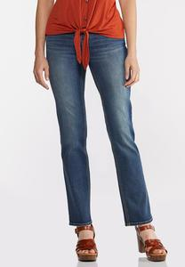 Straight High-Rise Jeans