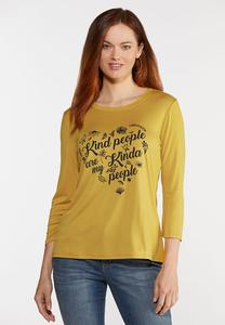 Plus Size Kind People Tee