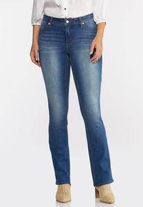 Curvy Bootcut Jeans