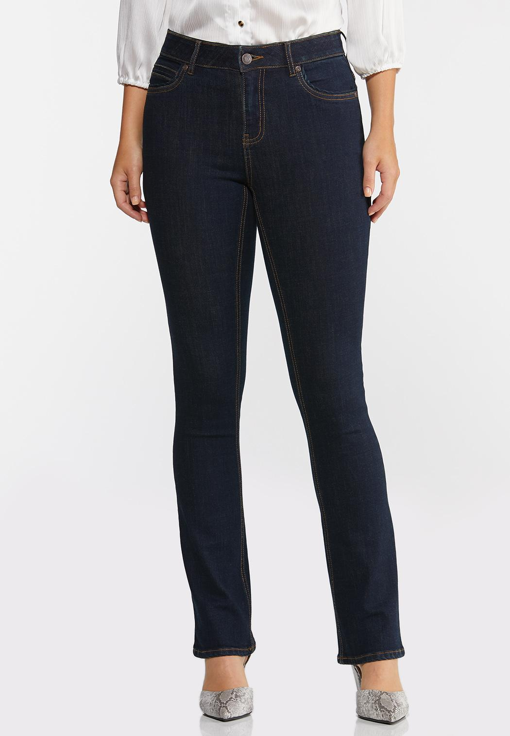 High-Rise Bootcut Jeans