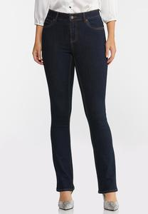 Petite High-Rise Bootcut Jeans