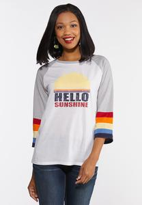 Plus Size Hello Sunshine Tee