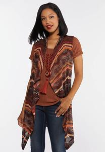 Plus Size Know Your Tribe Knit Vest