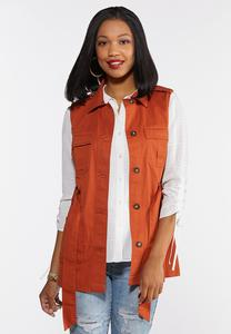 Solid Utility Vest