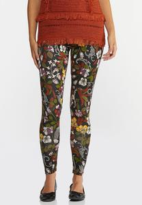 Garden Floral Leggings