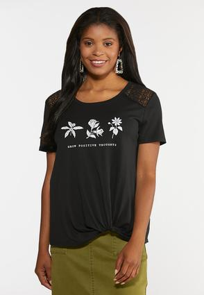 Grow Positive Thoughts Tee