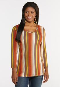Harvest Stripe Top