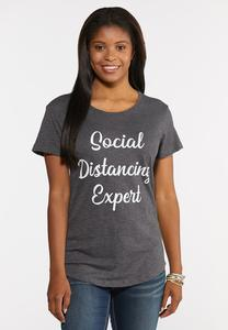 Social Distancing Expert Tee